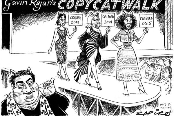 The latest copycat scandal - such talent doesn't deserve to be tainted with such a bad legacy