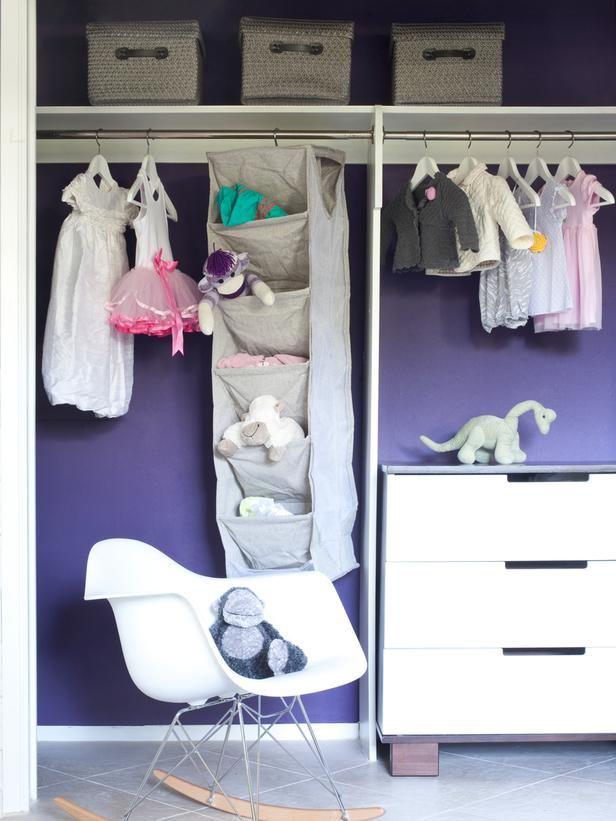 taking closet doors off in kids bedrooms will open up the space
