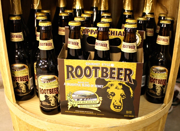 We now carry Appalachian Brewing Company Root Beer at both locations! This stuff is fantastic.
