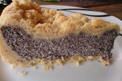Mohnkuchen mit Quark und Streuseln 1
