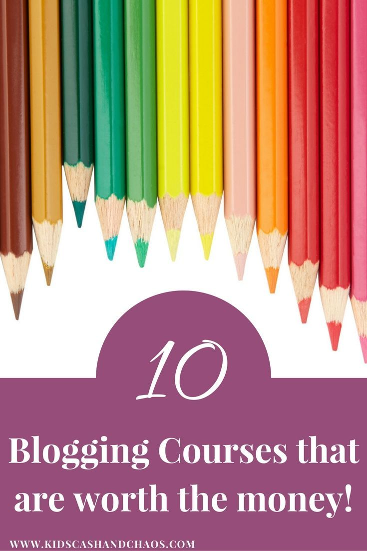 Finally a list of blogging courses that won't waste my time or money! These all come highly recommended. Make sure to pin this to refer to later!
