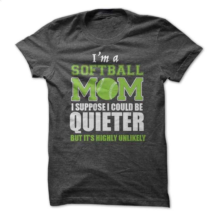 Softball Mom T-shirt T Shirts, Hoodies, Sweatshirts - #mens zip up hoodies #sleeveless hoodies. ORDER NOW => https://www.sunfrog.com/Sports/Softball-Mom-T-shirt.html?60505