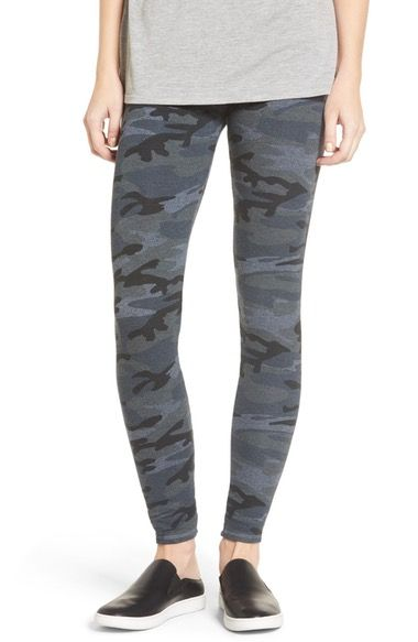 Main Image - Sundry Camo Yoga Pants