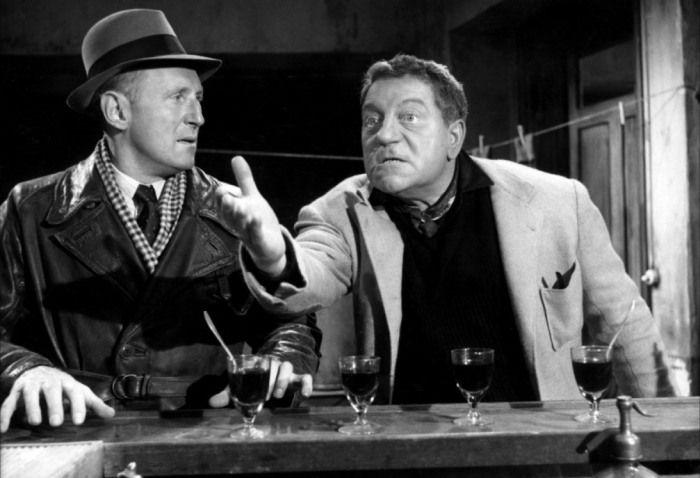 Bourvil et Jean Gabin