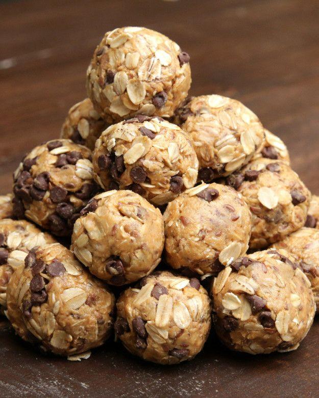 Você pode apresentar seus snacks assim! | Aprenda a fazer este snack de aveia e manteiga de amendoim