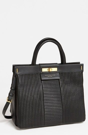 MARC BY MARC JACOBS 'East End - Madame Hilli' Quilted Satchel available at #Nordstrom