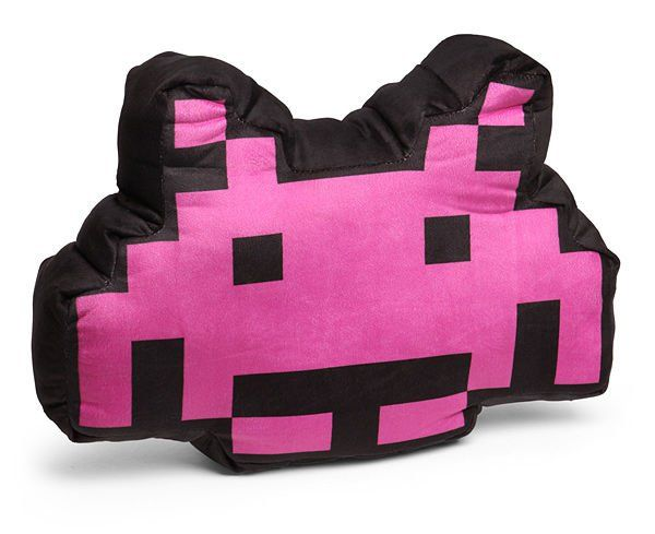 Find your inner geek with the Space Invaders Alien Crab Cushion
