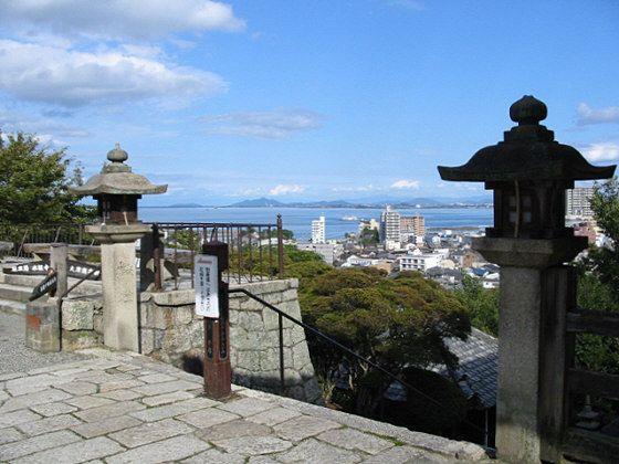 Onjoji Temple Lake Biwa