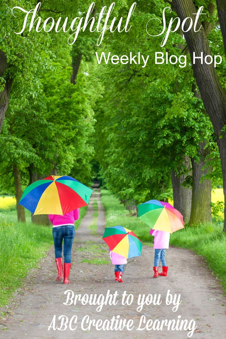 Join us this week at the Thoughtful Spot Weekly Blog Hop for tons of family friendly recipes, ideas, tips, and crafts! - abccreativelearning.com
