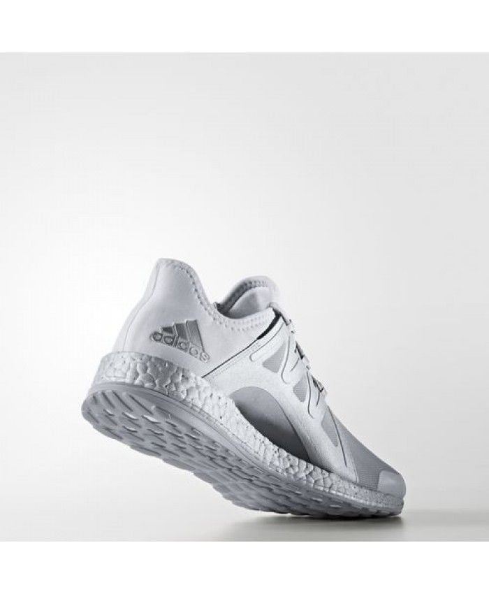 Adidas Pure Boost Xpose Shoes S82066 Clear Grey Footwear White Mid Grey