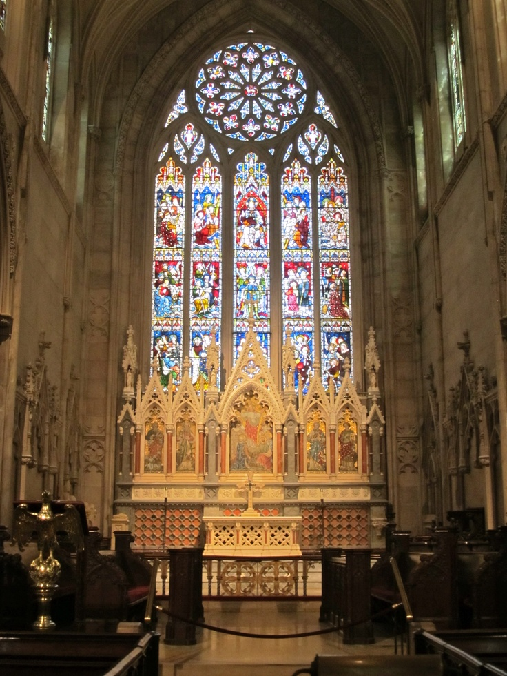 Gothic Revival church in New York City | #travel #nyc | http://newyorktours.onboardtours.com
