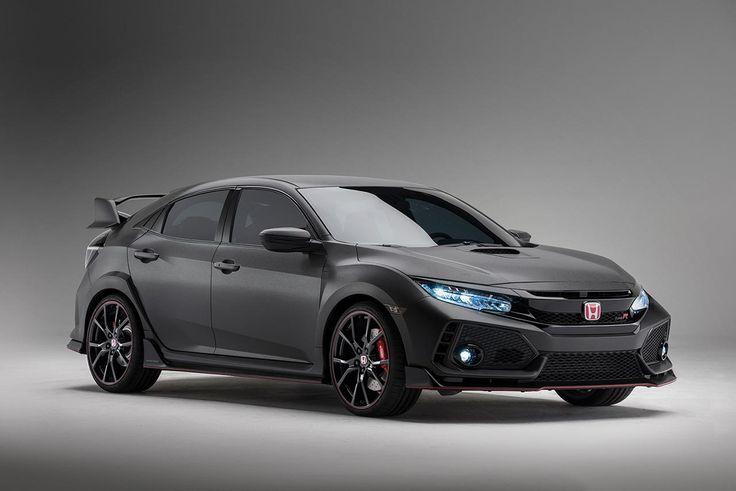 New Honda Civic Type R Prototype finally reaches US shores at 2016 SEMA Show