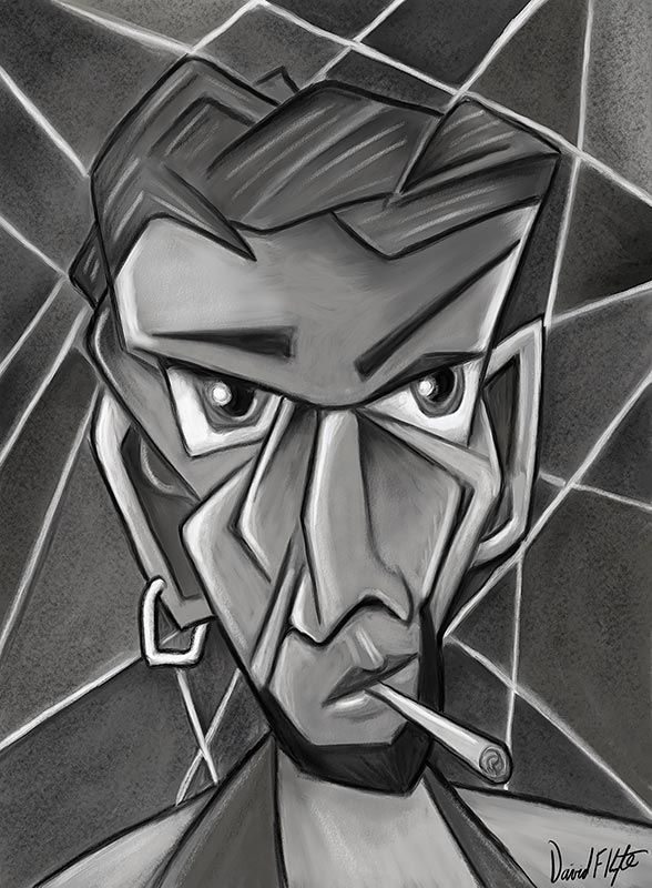 Cubist 9 by thomas c fedro from contemporary cubism art gallery - Cubist Face Jpg 588 215 800 Bust Pinterest Cubism And