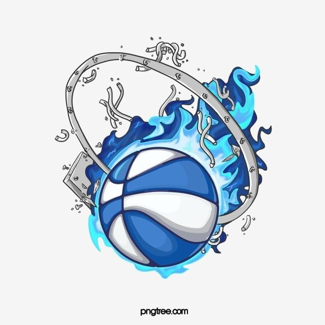 Cartoon Blue Flame Basketball Clipart Basketball Ball Flame Png Transparent Clipart Image And Psd File For Free Download Blue Flames Clip Art Cartoon