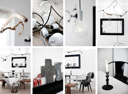 DIY: Affordable Branch Pendant via @decor8
