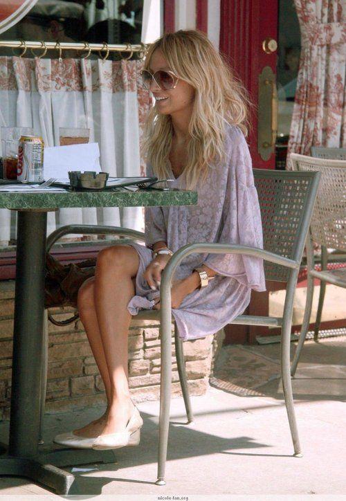 Nicole streetstyle: Printed kaftan mini dress #Bohemian #boho chic