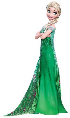 Elsa de frozen fever para imprimir-Imagenes y dibujos para imprimir