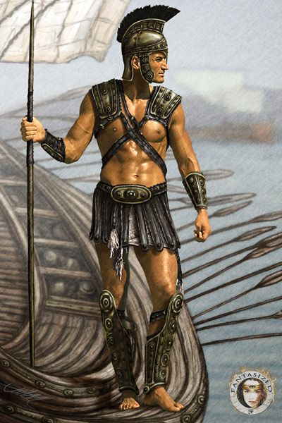 Greek Woman Warrior 17 Best images about W...