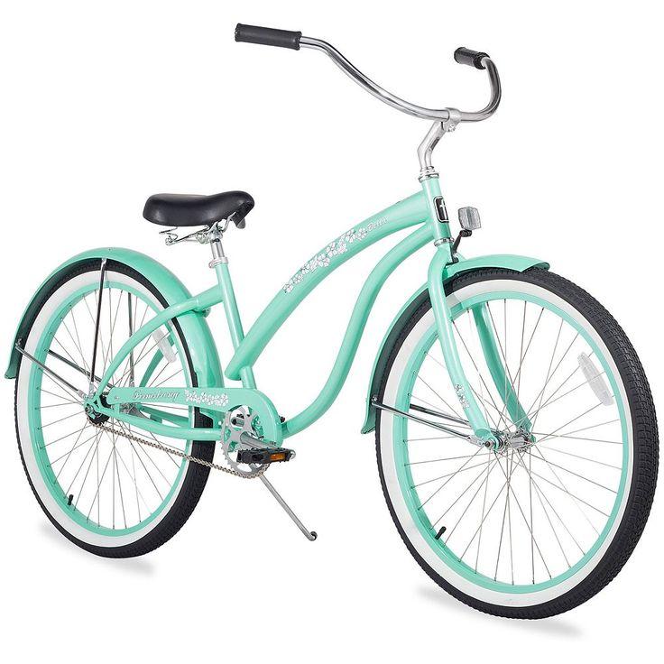 Firmstrong Women's 26-in. Bella Classic Single-Speed Beach Cruiser Bike, Green