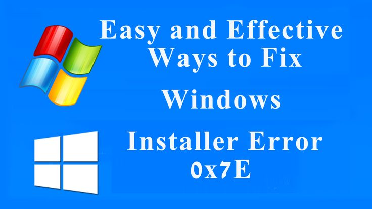 If you are facing Windows Installer Error 0x7E unexpectedly and want to get rid of it then you can easily solve this issue by following the manually steps mentioned in the blog URL: http://www.fixwindowserrors.biz/blog/easy-effective-ways-fix-windows-installer-error-0x7e