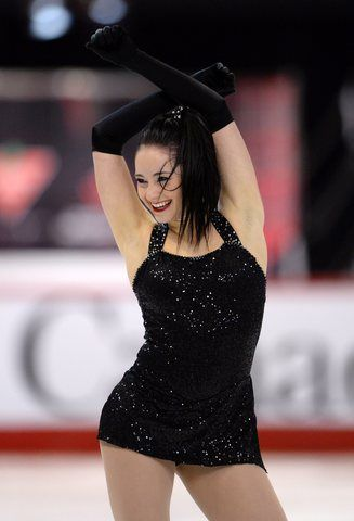 Kaetlyn Osmond. She is so perfect on ice!