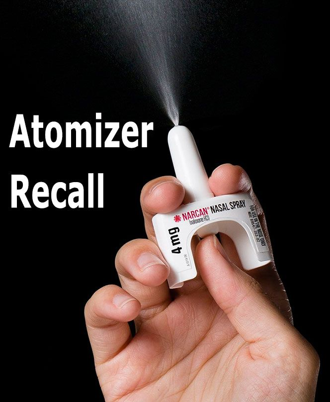 Members of the public who obtained naloxone kits with an atomizer delivery device in 2016, from local health agencies or other local trainings and pharmacies, are encouraged to check their device for recall. Atomizers from @aahealthdept #Naloxone trainings were not impacted by this #ProductRecall, but the Department of Health will provide replacements. #SubstanceAbuse #AnneArundel