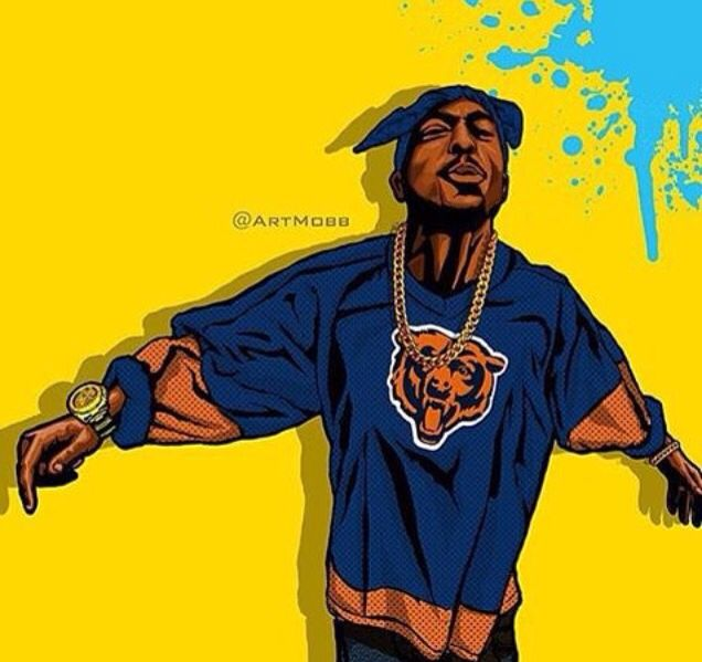 Inspirational Quotes Wallpaper Rapper Tupac Bears Chicago Bears Pinterest
