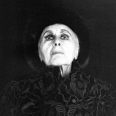 Loiuse Nevelson, by Robert Mapplethorpe 1986