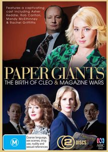 Paper Giants - The Birth Of Cleo / Magazine Wars Double Pack. $34.99