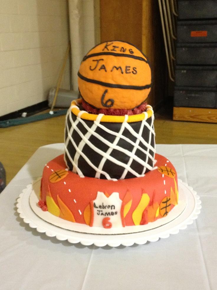 lebron james basketball cake lebron james