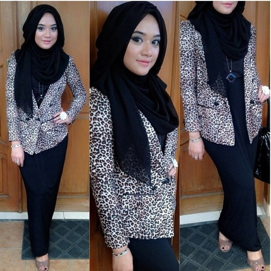 relaxed looking ❤ hijab style