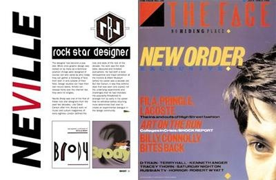 the early life and career of british graphic designer nerville brody About neville brody neville brody is a renowned english graphic designer he completed his design education in britain during the classic era of designing in the 1970s.