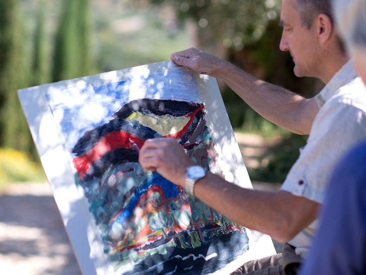 New On Blog : #Art #Retreat #Painting #Bleverde #Villas #Crete #Summer #Activities http://www.cretetravel.com/blog/story/let-the-art-guide-you-in-lovely-crete/