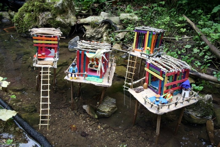 popsicle river houses great way to teach environment and other cultures
