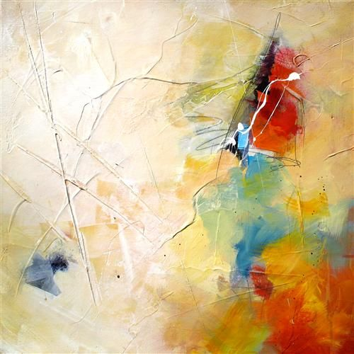 Original art for sale at UGallery.com | Wave of Color IV by Karen Hale | $725 | acrylic painting | 18' h x 18' w | http://www.ugallery.com/a...