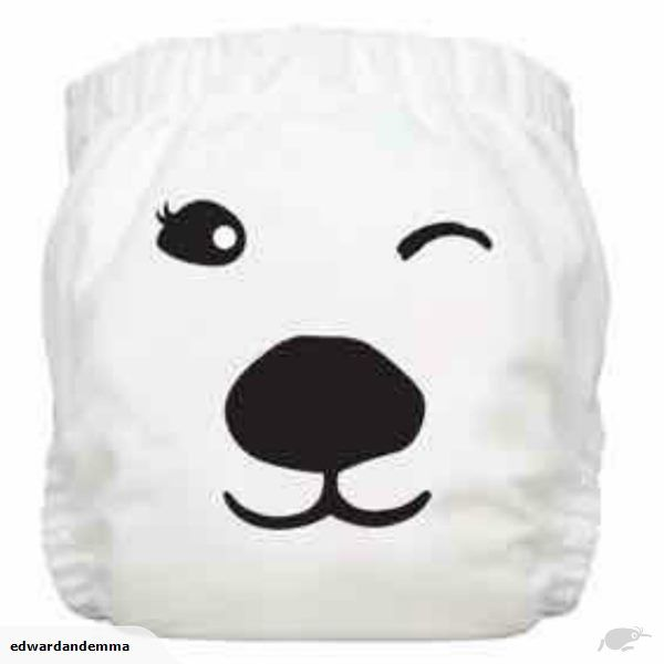 Charlie Banana One Size Cloth Nappy | Polar Bear Print