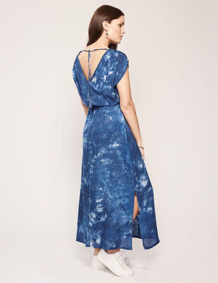 INKA klänning blå