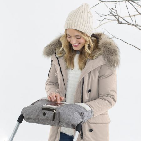 Skip Hop Stroll & Go On-Call Hand Muff - Grey - Stroller Accessories - Canada's Baby Store