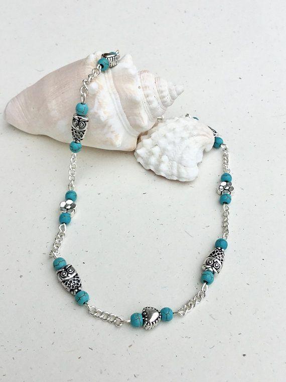 Ankle Bracelet Turquoise Anklet