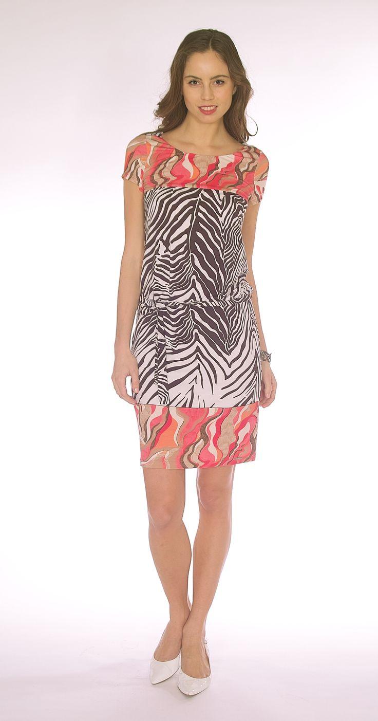 Zebra Print Dress SL2016