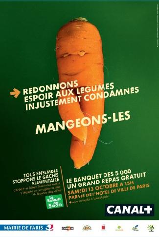 Gaspillage alimentaire : un banquet géant samedi à Paris - Le Nouvel Observateur - Tristram Stuart et Canal+ organisent le 13 octobre à Paris un déjeuner gratuit pour 5.000 personnes à base de légumes difformes refusés par les supermarchés.