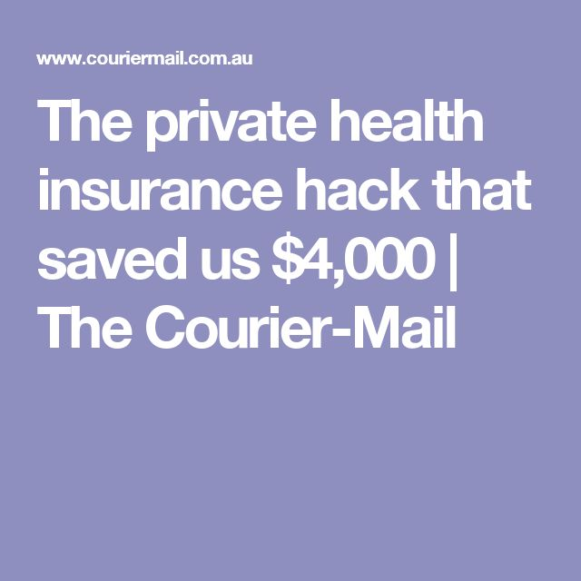 The private health insurance hack that saved us $4,000 | The Courier-Mail