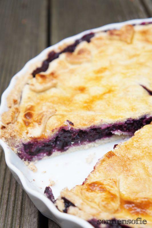 Blueberry Pie - Blaubeer Pie