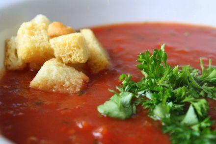 Tomatsoppa med chili