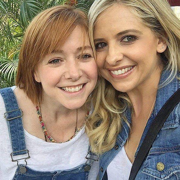 Buffy the Vampire Slayer Reunion: Sarah Michelle Gellar and Alyson Hannigan