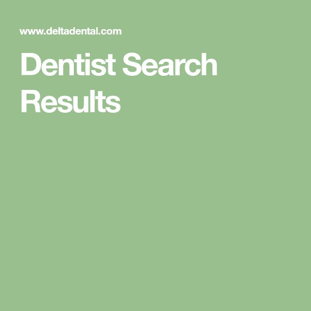 Dentist Search Results