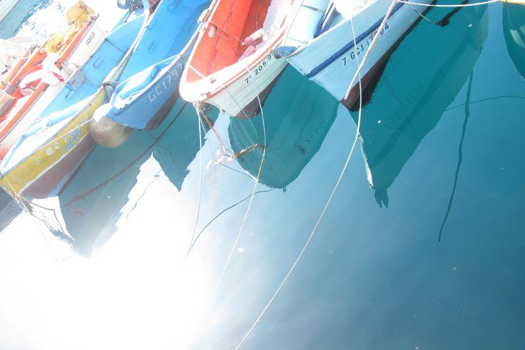 Boats in Spain.