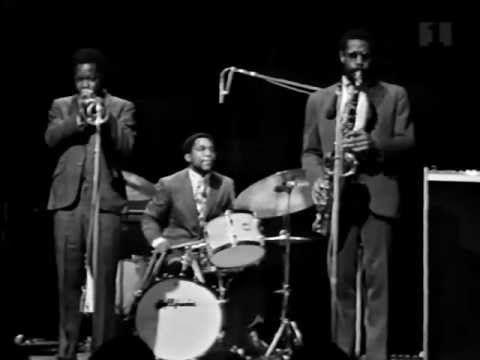 Jazz Omkring Midnat - Denmark TV 1968    Horace Silver - Piano  Bill Hardman - Trumpet  Bennie Maupin - Tenor  John Williams - Bass  Billy Cobham - Drums