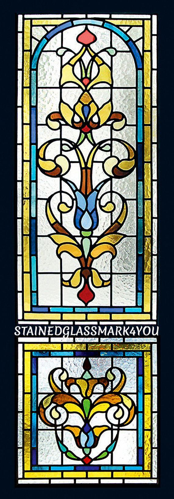 Panel Art Deco. Suncatcher. Panel de por Stainedglassmark4you
