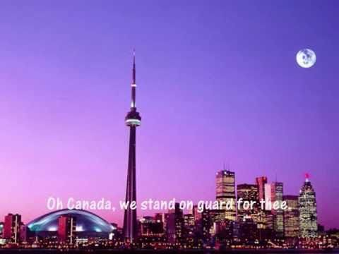 ▶ Oh Canada instrumental with pictures and lyrics - YouTube